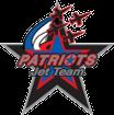 Patriots jet team logo patch